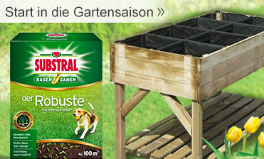 Start in die Gartensaison
