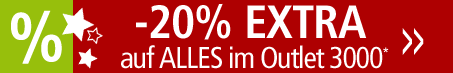 -20% EXTRA auf Alles im Outlet